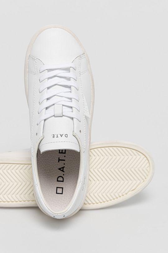 biela D.A.T.E. - Kožená obuv Ace Pop