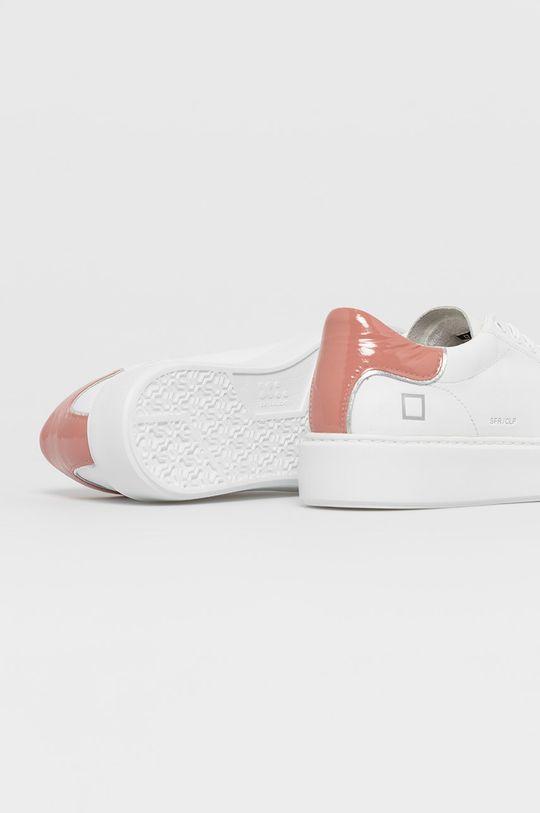 D.A.T.E. - Kožená obuv SFERA  Zvršok: Prírodná koža Vnútro: Syntetická látka Podrážka: Syntetická látka