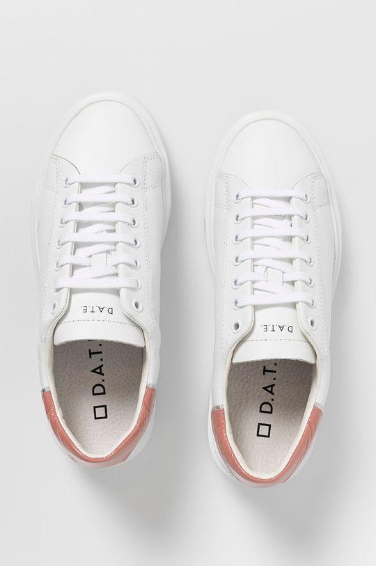 biela D.A.T.E. - Kožená obuv SFERA