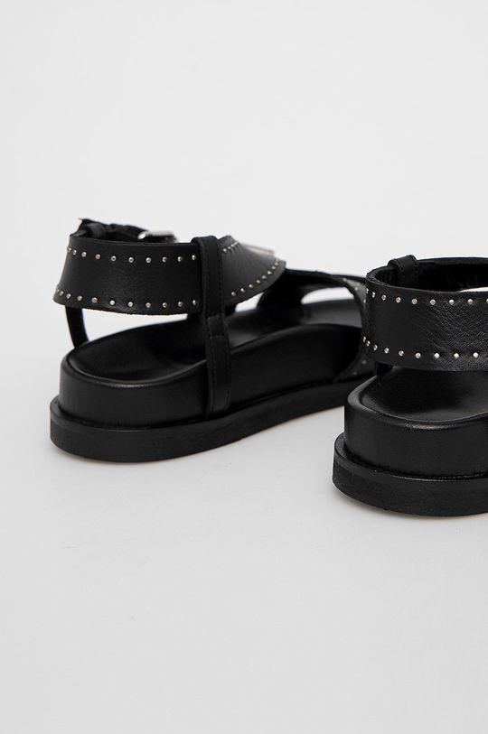 AllSaints - Kožené sandály NINA  Svršek: Přírodní kůže Podrážka: Umělá hmota Vložka: Přírodní kůže