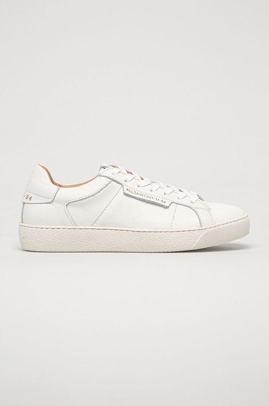 biela AllSaints - Kožená obuv Sheer Dámsky
