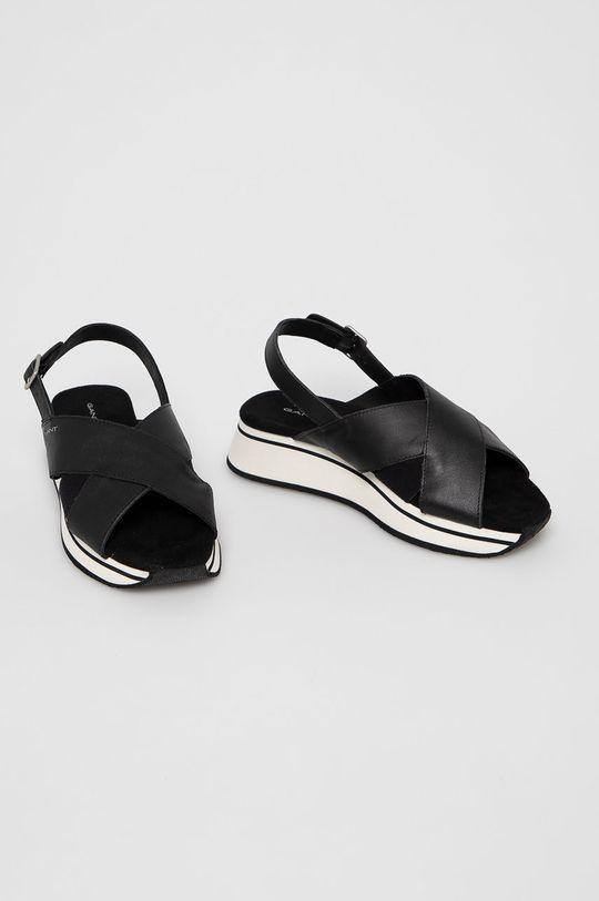 Gant - Sandały skórzane Jaidyn czarny