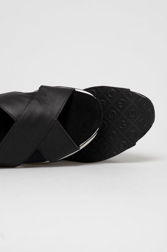 czarny Gant - Sandały skórzane Jaidyn
