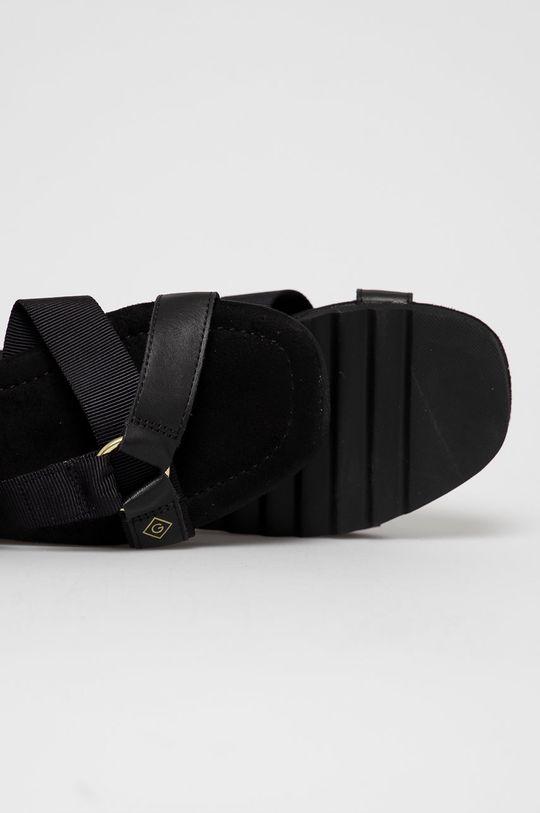 czarny Gant - Sandały Janeen