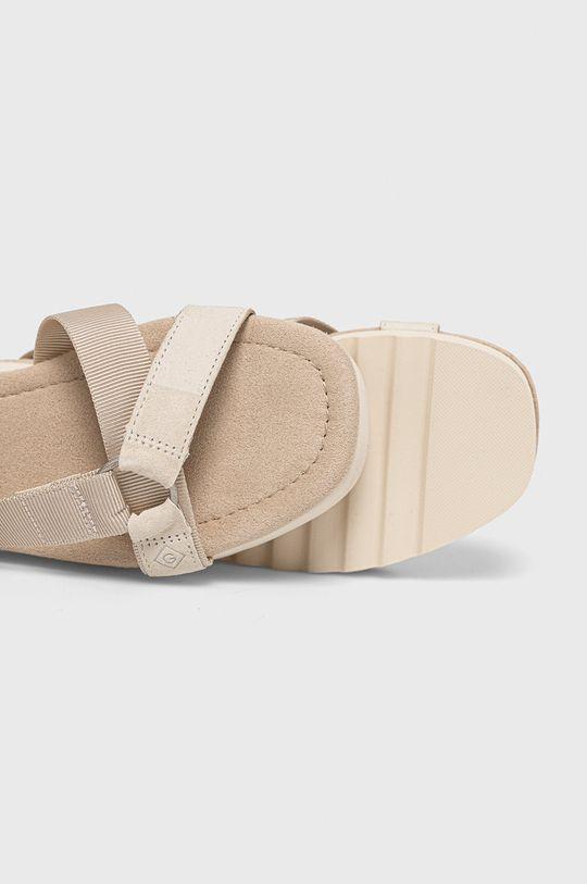 kremowy Gant - Sandały Janeen