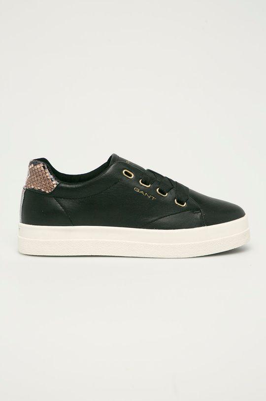 černá Gant - Kožené boty Avona Dámský