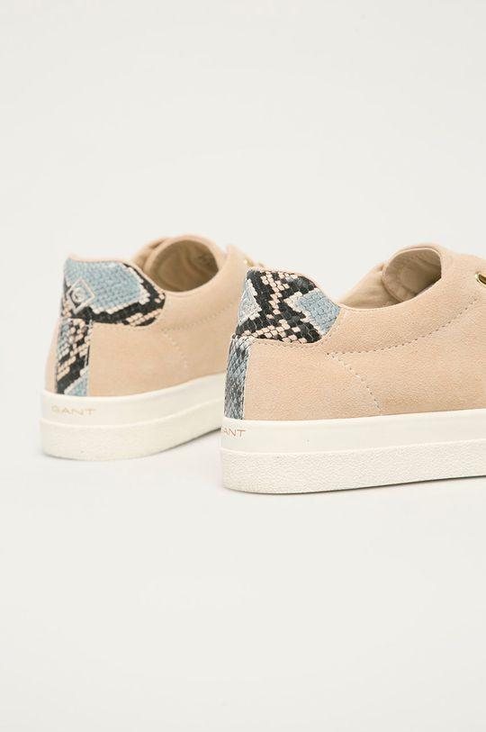 Gant - Semišové boty Avona  Svršek: Semišová kůže Vnitřek: Textilní materiál Podrážka: Umělá hmota