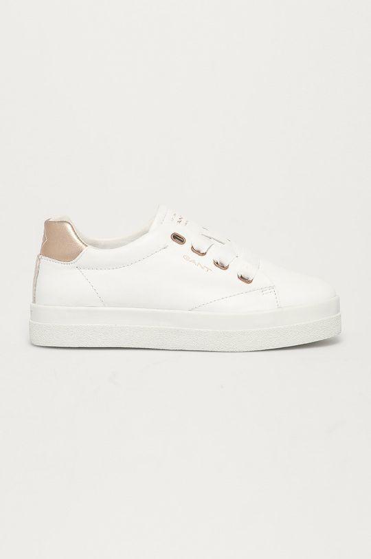 bílá Gant - Kožené boty Avona Dámský