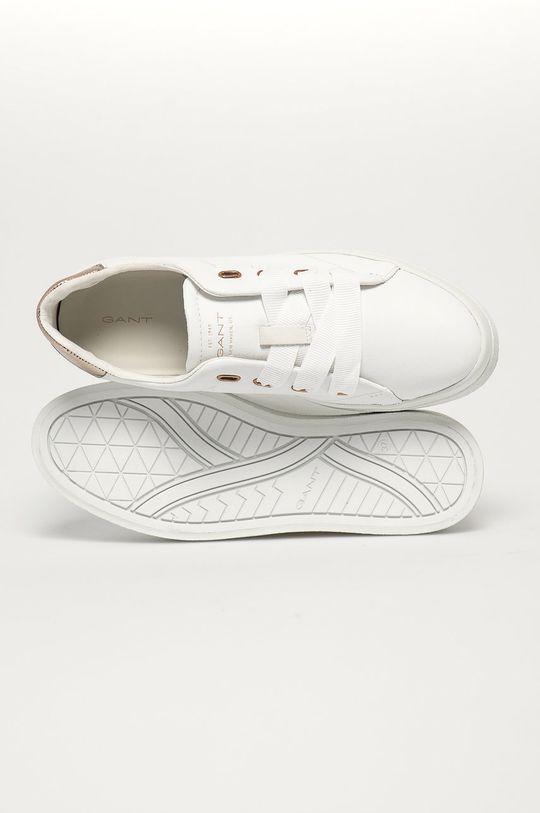bílá Gant - Kožené boty Avona