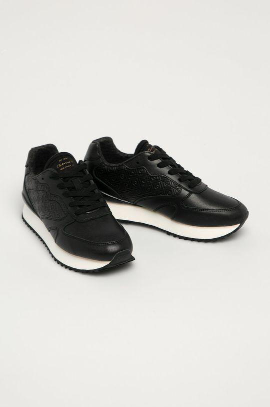 Gant - Kožená obuv Bevinda čierna