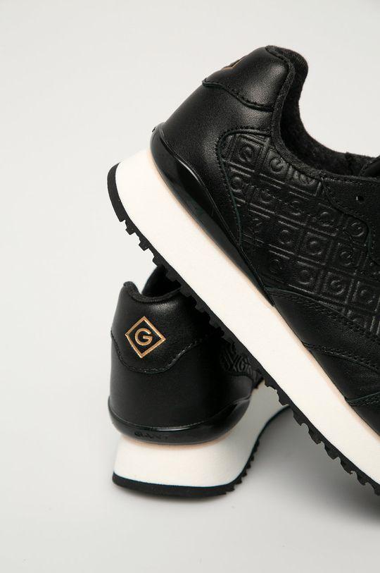 Gant - Kožená obuv Bevinda  Zvršok: Prírodná koža Vnútro: Syntetická látka, Textil Podrážka: Syntetická látka
