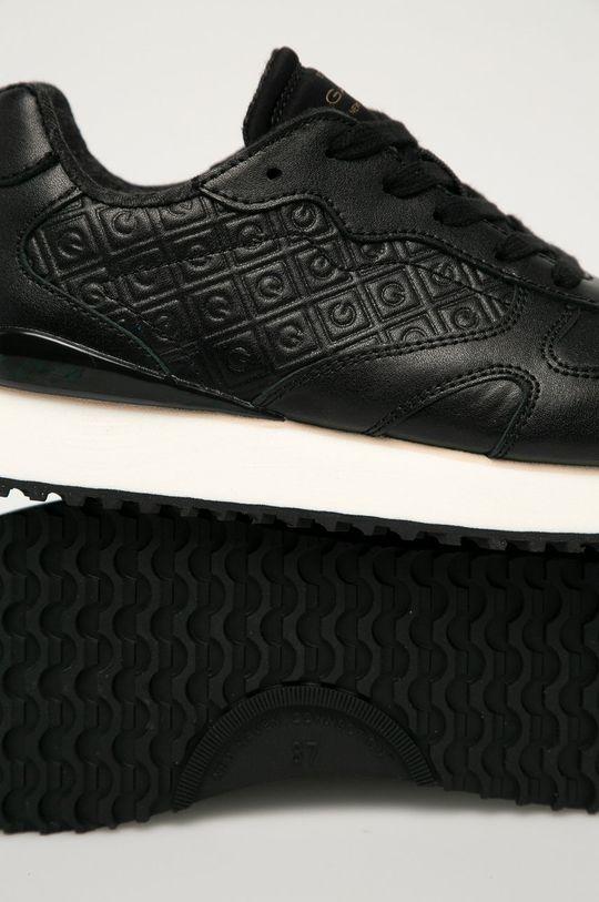 čierna Gant - Kožená obuv Bevinda