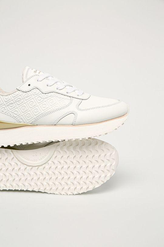 biały Gant - Buty skórzane Bevinda