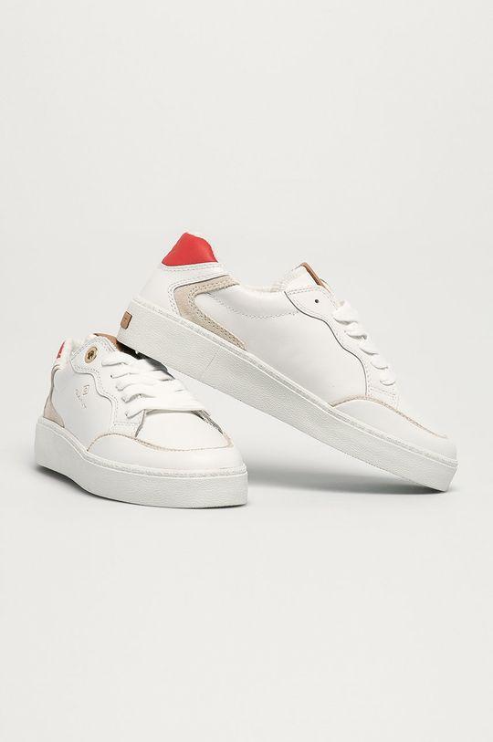 Gant - Kožené boty Legalilly bílá