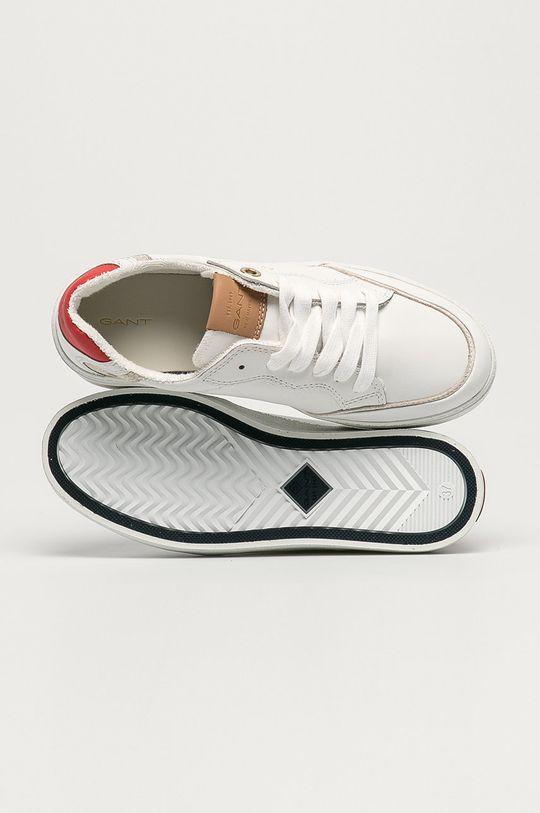 bílá Gant - Kožené boty Legalilly