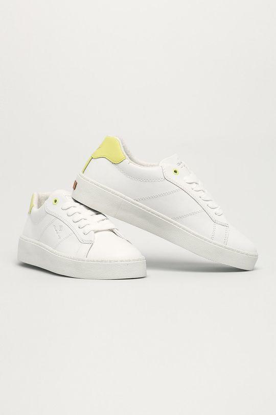 Gant - Kožená obuv Legalilly biela