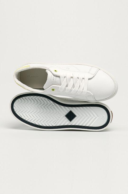 biela Gant - Kožená obuv Legalilly