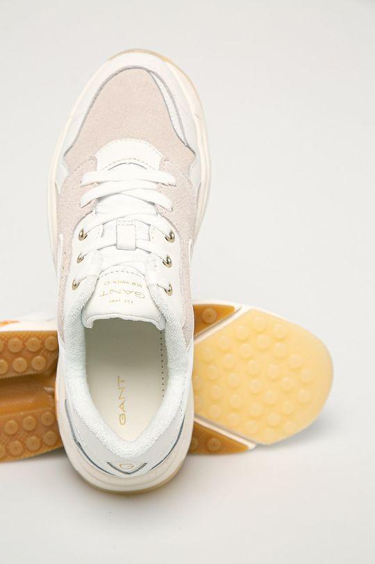 Gant - Kožená obuv Nicewill  Zvršok: Prírodná koža, Semišová koža Podrážka: Syntetická látka
