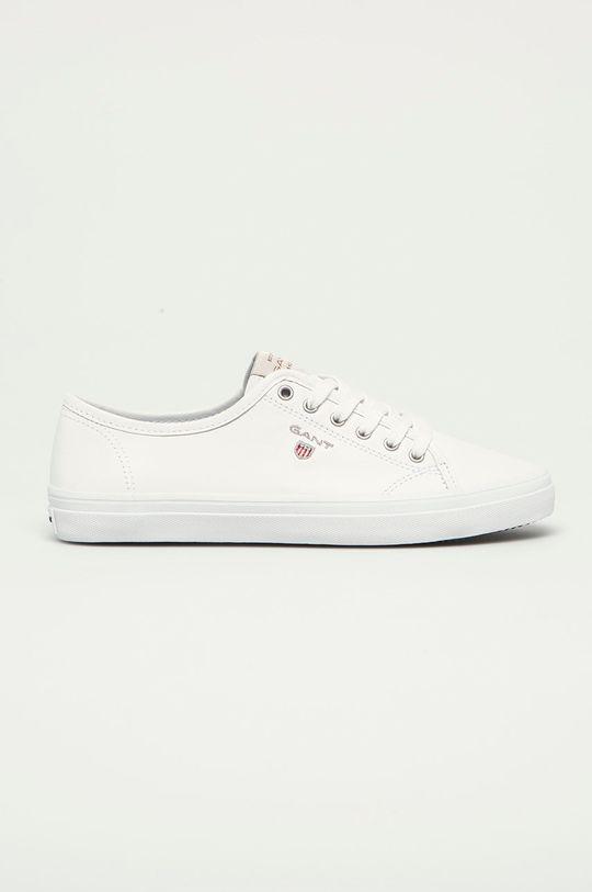 biały Gant - Tenisówki skórzane Preptown Damski