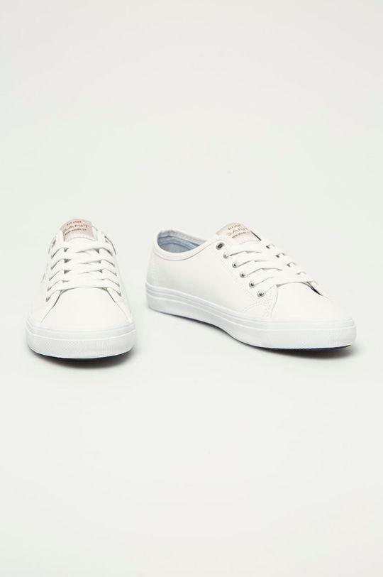 Gant - Kožené tenisky Preptown bílá