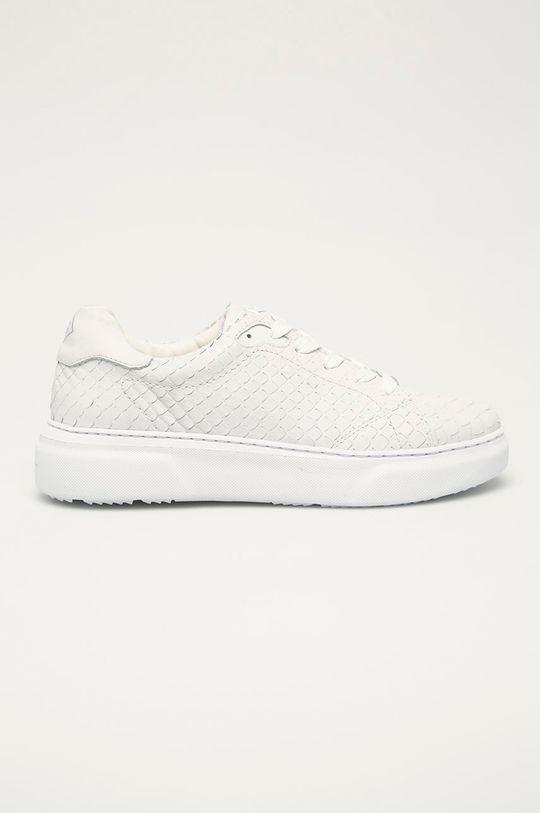 biela Gant - Kožená obuv Seacoast Dámsky