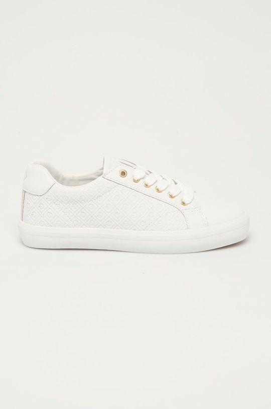 biały Gant - Tenisówki skórzane Seaville Damski