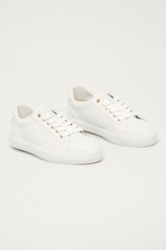 Gant - Tenisówki skórzane Seaville biały
