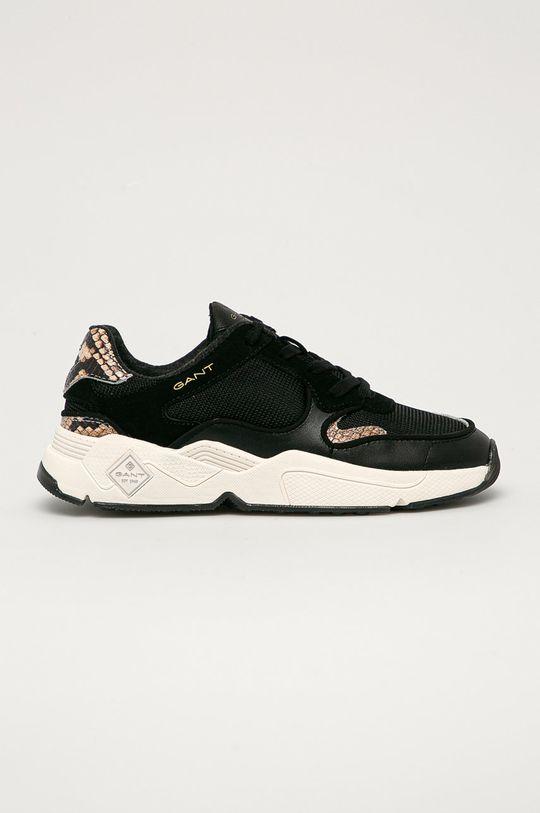 černá Gant - Kožené boty Nicewill Dámský