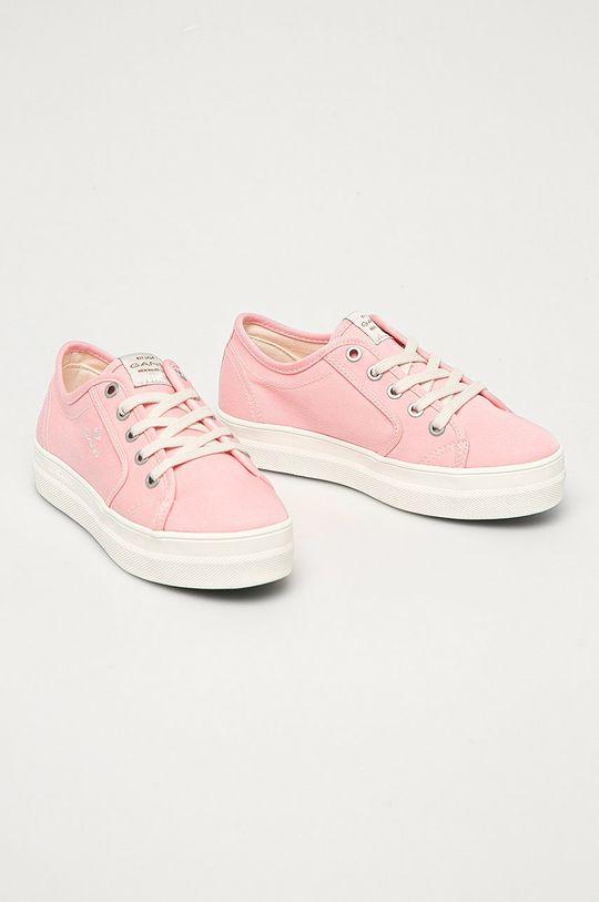 Gant - Tenisi Leisha roz pastelat