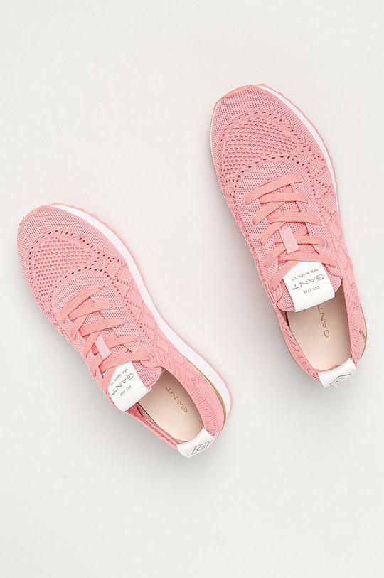 pastelově růžová Gant - Boty Bevinda