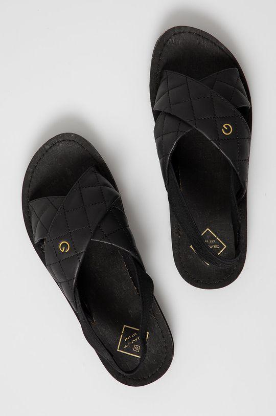 czarny Gant - Sandały Flatville