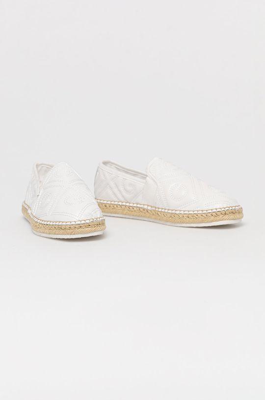 Gant - Kožené espadrilky Lular biela