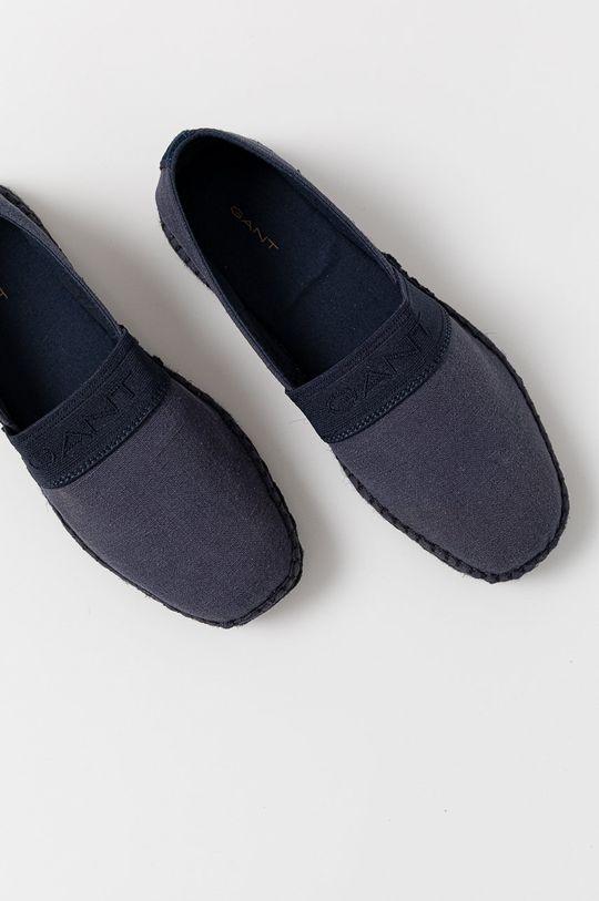 niebieski Gant - Espadryle Lular