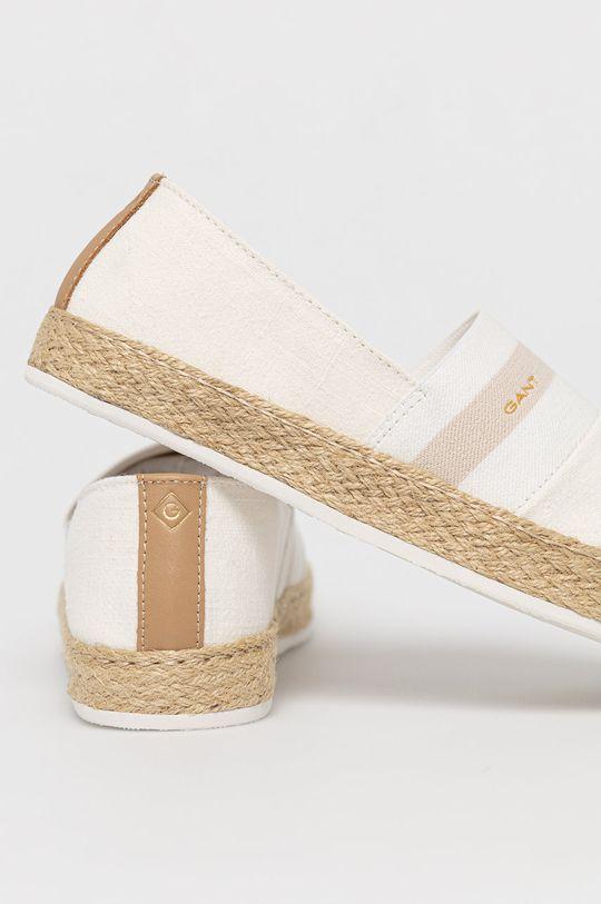 Gant - Espadrilky Raffiaville  Svršek: Textilní materiál, Přírodní kůže Vnitřek: Textilní materiál Podrážka: Umělá hmota