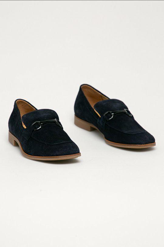 Gant - Semišové mokasíny Treesa námořnická modř