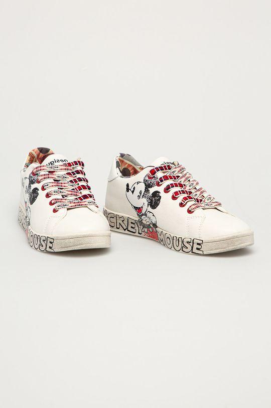 Desigual - Topánky biela