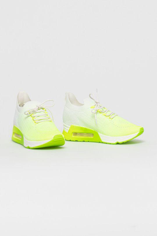Dkny - Boty žlutě zelená
