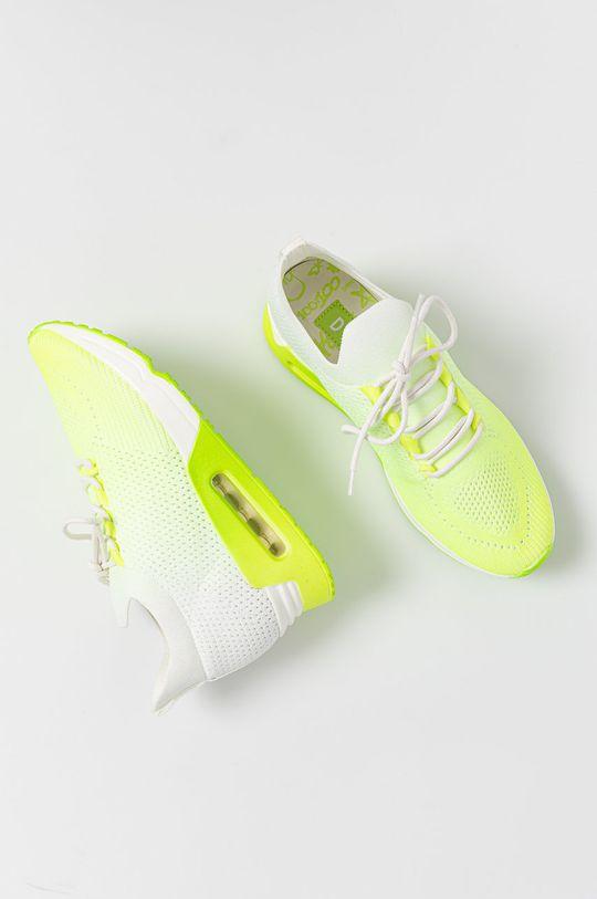 žlutě zelená Dkny - Boty