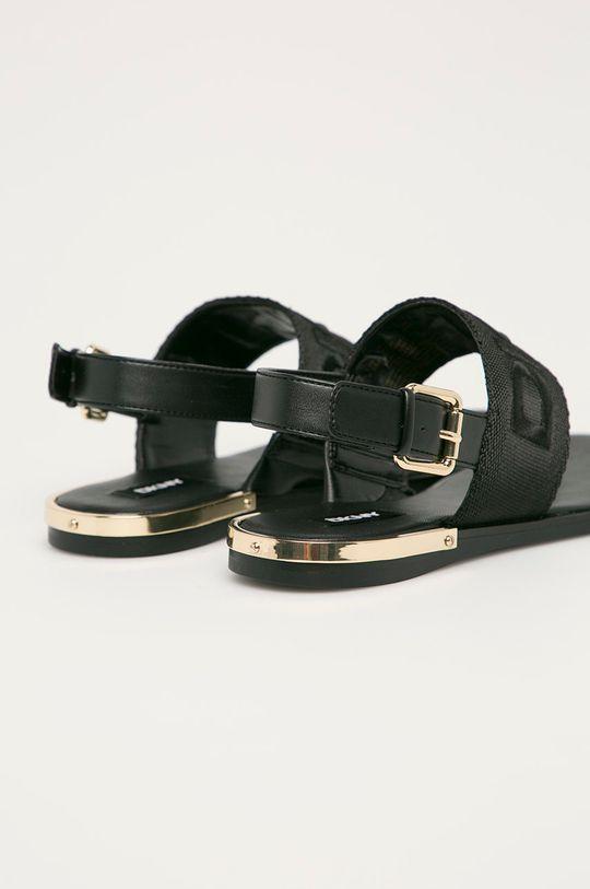 Dkny - Sandále  Zvršok: Syntetická látka, Textil Vnútro: Syntetická látka Podrážka: Syntetická látka
