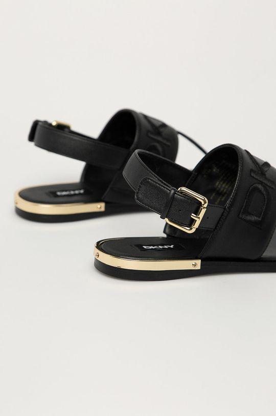 Dkny - Kožené sandále  Zvršok: Prírodná koža Vnútro: Prírodná koža Podrážka: Syntetická látka