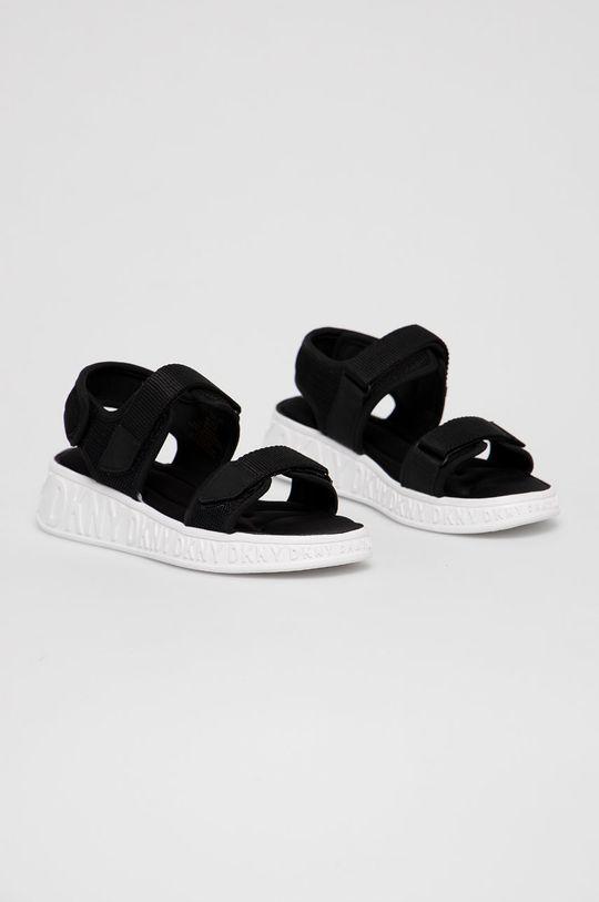 Dkny - Sandały czarny