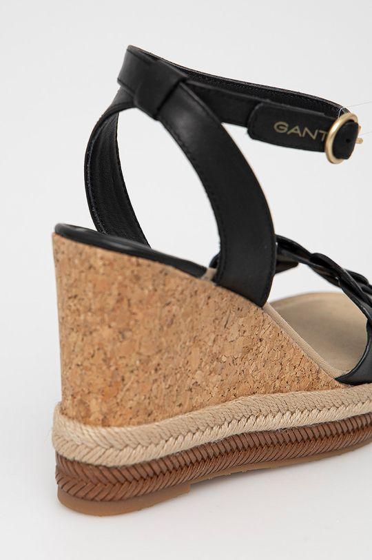 Gant - Kožené sandály Ivalice  Svršek: Přírodní kůže Vnitřek: Textilní materiál, Přírodní kůže Podrážka: Umělá hmota