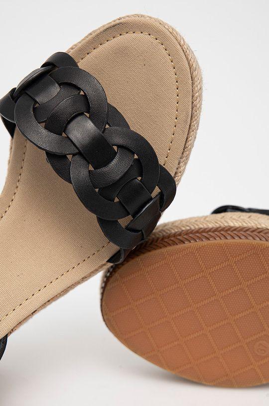 černá Gant - Kožené sandály Ivalice