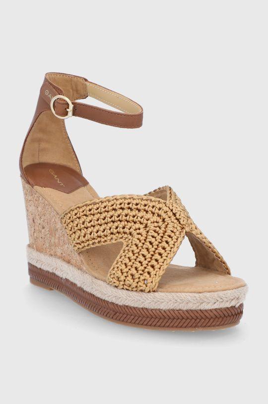 Gant - Sandały Ivalice brązowy