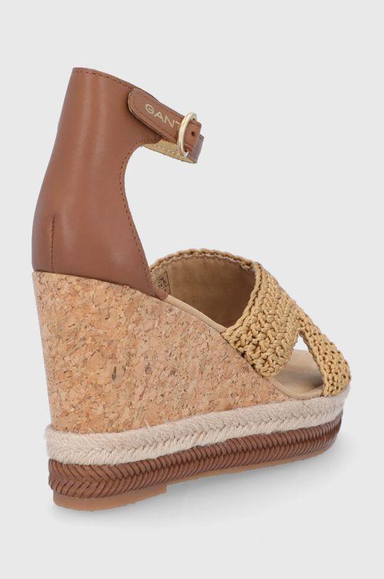 Gant - Sandały Ivalice Cholewka: Materiał tekstylny, Skóra naturalna, Wnętrze: Materiał tekstylny, Skóra naturalna, Podeszwa: Materiał syntetyczny