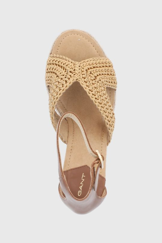 brązowy Gant - Sandały Ivalice