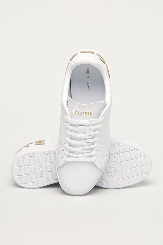 bílá Lacoste - Kožené boty