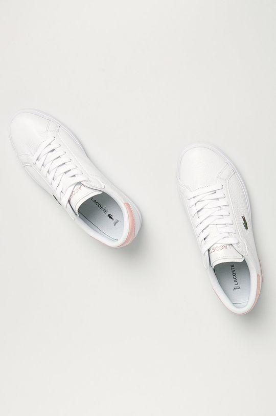 Lacoste - Kožená obuv Powercourt Dámsky