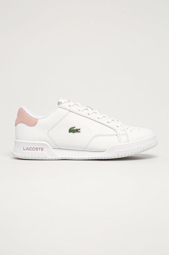 bílá Lacoste - Kožené boty Twin Serve Dámský