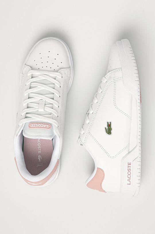 Lacoste - Kožené boty Twin Serve Dámský